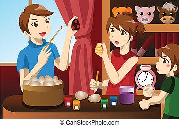 vervende eieren, geitjes, pasen