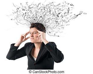 verwarring, stress