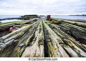 verweerd hout, oppervlakte