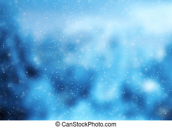 verwischen, abstrakt, winter, hintergrund