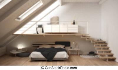 Mezzanine, bett. Klein, mezzanine, studio, appartment ...