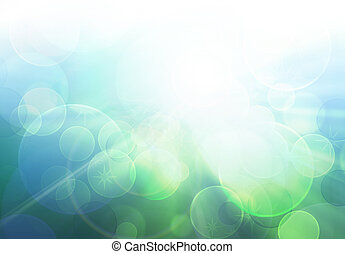 verwischen, licht