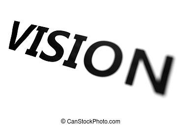 verwischen, vision