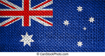 flag of australia - very big size illustration country flag ...