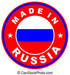 made in russia - very big size made in russia label...