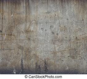 very dirty worn gary brown beige industrial factory wall