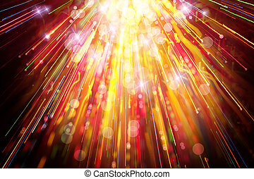 Very emotional abstract festive background - A very...