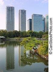 Hamarikyu Zen garden