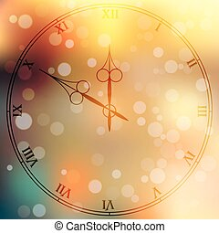 antique clock fac - Very high quality original trendy vector...