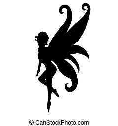 Very high quality original trendy  vector illustration of pixie