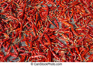 very hot and spicy chilli