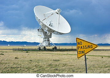 The Karl G. Jansky Very Large Array (VLA) is a radio astronomy observatory located on the Plains of San Agustin in New Mexico.