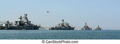 very large warship