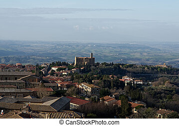 very nice view of volterra