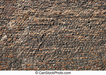 Very Old brick Wall Texture And Background