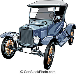 very old car
