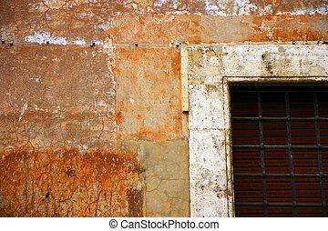 Very old facade