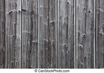 Very old gray wooden planks