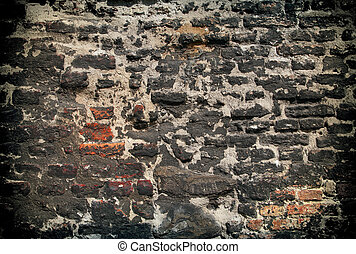 very old wall