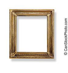 frame. Isolated on white