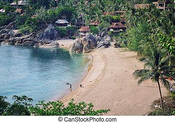 Koh Samui, Thailand - Very secure beach (Silver) at thai ...