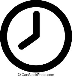 Very simple clock button