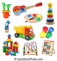 verzameling, speelgoed