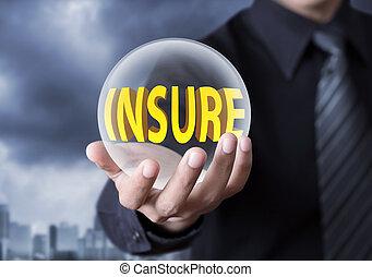 verzekering, concept