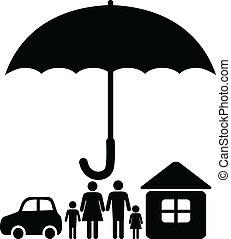 verzekering, meldingsbord