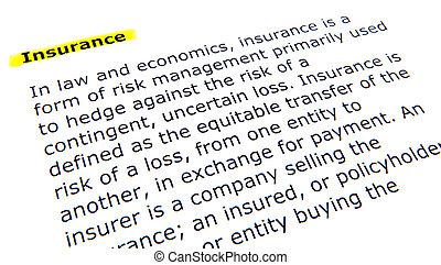 verzekering