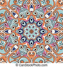 verzierung, seamless, design, muster, arabisches , dein