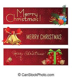 veselý, christmas', standarta