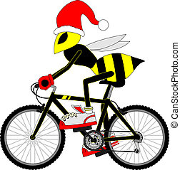 vespa, bicicletta