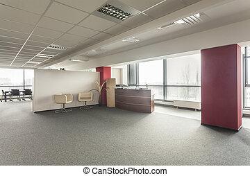 vestíbulo, oficina