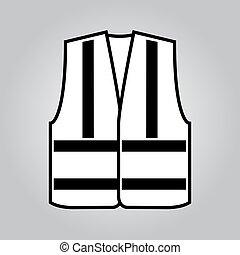 vest., シグナル, ベクトル, イラスト