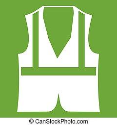 Vest icon green