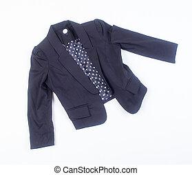 veste, arrière-plan., jacket.