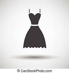 vestido, ícone