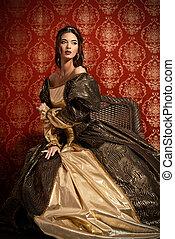 vestido, histórico