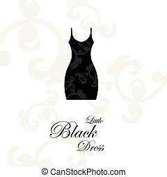 vestido negro pequeño, -, elemento del diseño