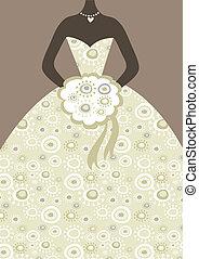 vestido nuptial