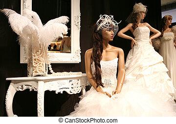 vestidos, boda