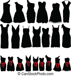 vestidos, partidos