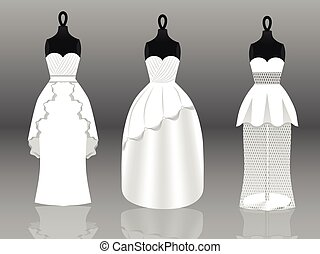 vestiti, matrimonio