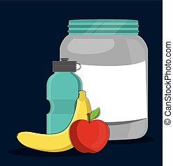 vestor design of Protein Supplement