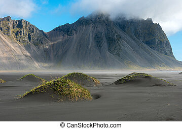 Vestrahorn mountain in Stokksnes, Iceland