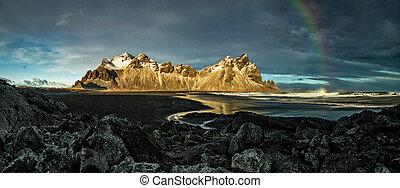 Vestrahorn Stockknes mountain range, Iceland