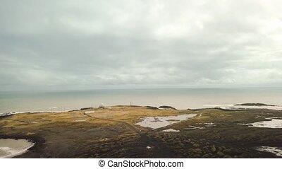 Vestrahorn, Stokksnes, Iceland - Iceland aerial drone...
