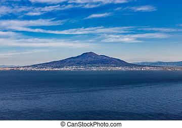 Vesuvius from the Sea