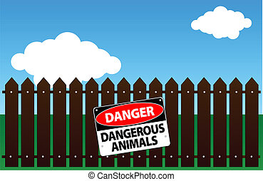 veszélyes, állatok
